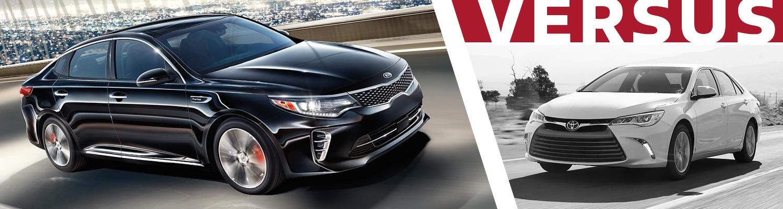 Olympia Auto Mall >> 2016 Kia Optima VS 2016 Toyota Camry Model Feature Comparison   Olympia, WA