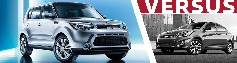 Olympia Auto Mall >> 2016 Kia Soul VS 2016 Hyundai Accent Model Feature Comparison   Olympia, WA