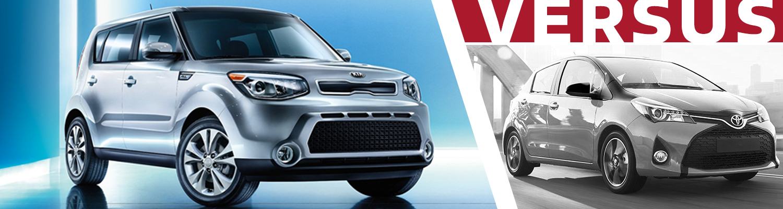 Olympia Auto Mall >> Compare 2016 Kia Soul VS 2016 Toyota Yaris Model Features ...