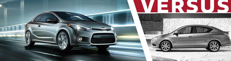 2017 kia rio vs nissan versa model comparison olympia wa for Hanson motors used cars