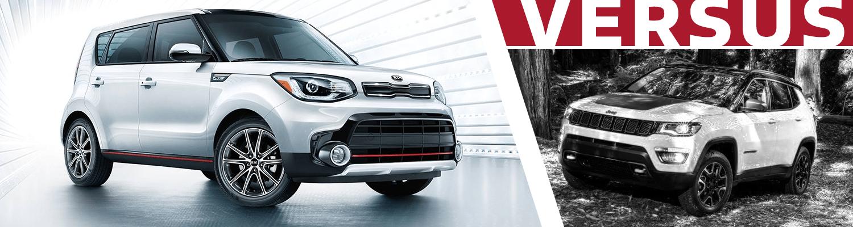 Olympia Auto Mall >> 2018 Kia Soul vs 2018 Jeep Compass   crossover model comparison research   Olympia, WA