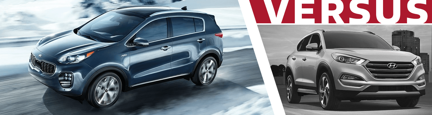 2018 KIA Sportage Vs 2018 Hyundai Tucson Model Comparison In Olympia, WA