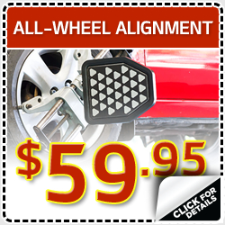Click to view our all wheel alignment service special in Olympia, WA