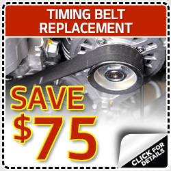 Click to view our timing belt service special in Olympia, WA