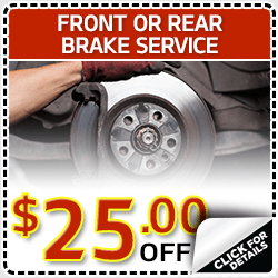 Kia Front & Rear Brake Replacement Service Special in Olympia, WA