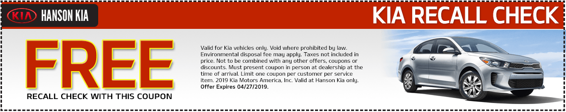 Kia Free Recall Check and Information Updates in Olympia, WA