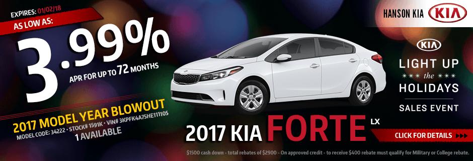 2017 Kia Forte LX Finance Special in Olympia, WA