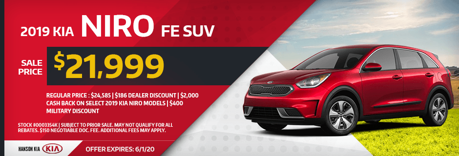 2019 Kia Niro FE SUV Special savings offer in Olympia, WA