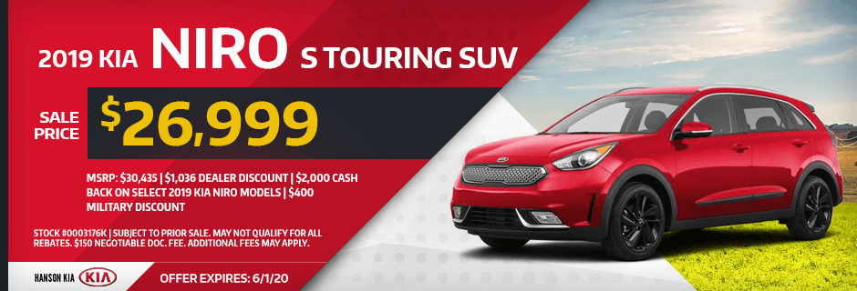 2019 Kia Niro S Touring SUV Special savings offer in Olympia, WA