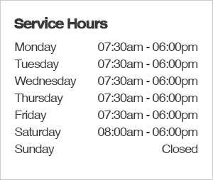 Hanson Subaru Service Department Hours