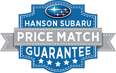 Hanson Subaru Price Match Guarantee