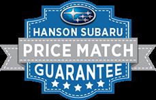 Hanson Subaru Price Match Guarantee
