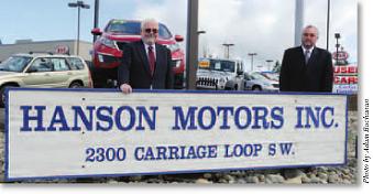 Hanson Subaru in Olympia, WA