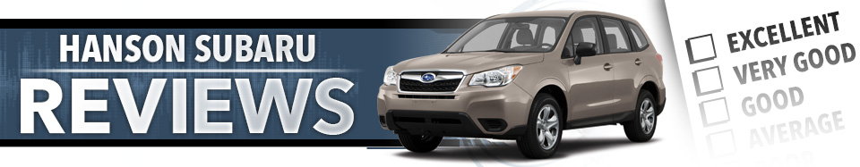 Write a Review for Us at Hanson Subaru Olympia, WA