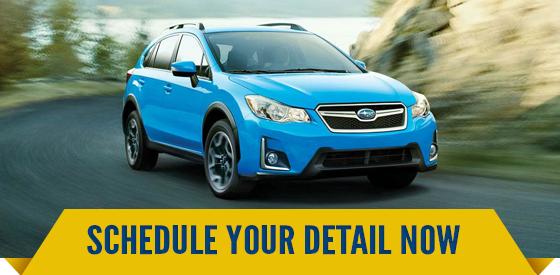 Schdeule Subaru Detail Services in Olympia, WA