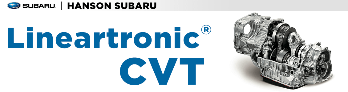 Subaru Lineartronic CVT Transmission Engineering Information