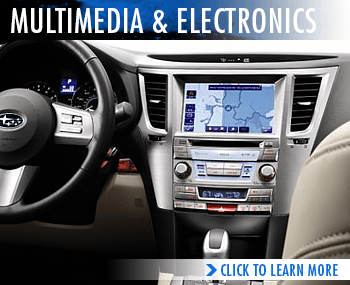Click to research Subaru's Multimedia Electronics at Hanson Subaru in Olympia, WA