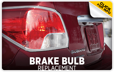 Click to browse our brake bulb replacement service information at Hanson Subaru in Olympia, WA