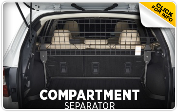 Click for more information on genuine Subaru compartment separator available at Hanson Subaru in Olympia, WA