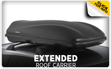 Click for more information on genuine Subaru extended roof carrier available at Hanson Subaru in Olympia, WA
