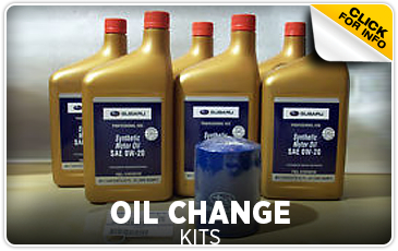 Click for more information on genuine Subaru oil change kits available at Hanson Subaru in Olympia, WA
