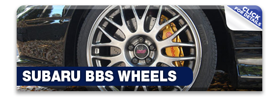 Click to learn more about Subaru STI performance BBS Wheels in Olympia, WA