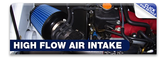 Click to research our high flow intake system at Hanson Subaru in Olympia, WA