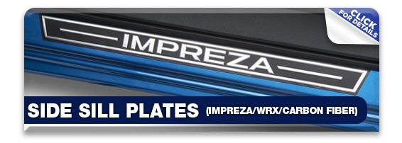 Click to view our Subaru side sill plates performance parts information in Olympia, WA