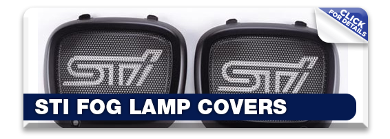Get details about Subaru STI Fog Lamp Covers in Olympia, WA