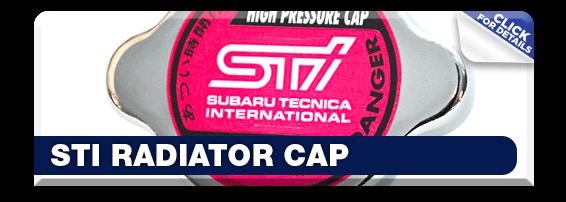 Get details about Subaru STI Radiator Cap in Olympia, WA