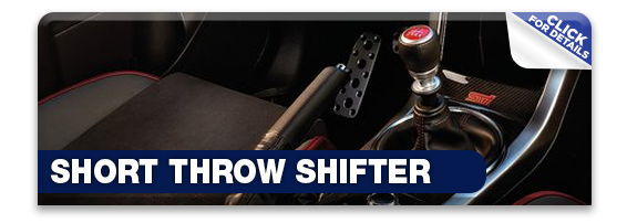 Click to research our short throw shifter available at Hanson Subaru in Olympia, WA