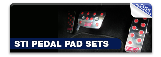 Click to learn more about Subaru STi Pedal Pad Sets in Olympia, WA