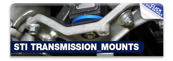Click to learn more about Subaru STI performance Transmission Mounts in Olympia, WA
