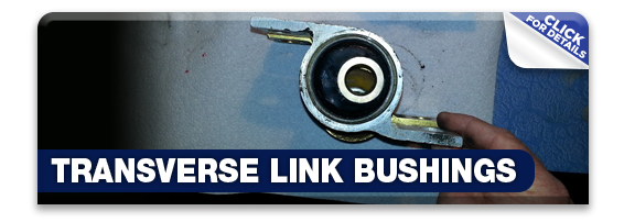 Click to learn more about Subaru STI performance Transverse Link Bushings in Olympia, WA
