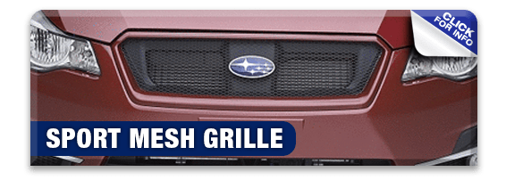 Click to research our sport mesh grille information at Hanson Subaru in Olympia, WA