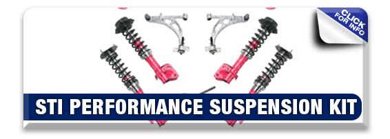 Click to view our STI Performance Suspension Kit information at Hanson Subaru in Olympia, WA