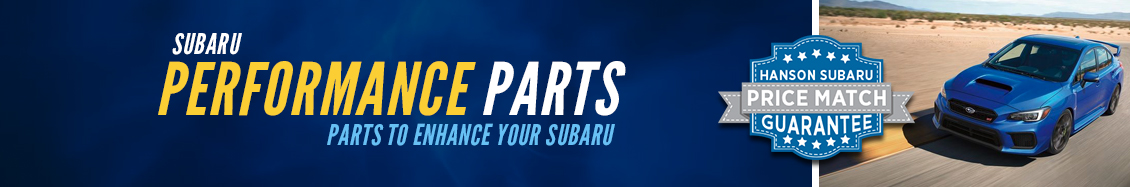 Learn more about Suabru STI performance parts in Olympia, WA