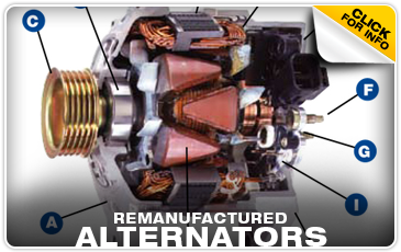 Click to learn about remanufactured Subaru alternators in Olympia, WA