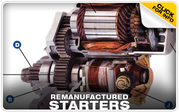 Click to learn about remanufactured Subaru starters in Olympia, WA