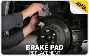 Brake Pad Replacement Service Information at Hanson Subaru serving Grays Harbor