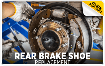 Click to learn about our Subaru rear brake shoe replacement service in Olympia, WA