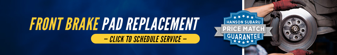 Research our Subaru Front Brake Pad Replacement Service Information in Olympia, WA