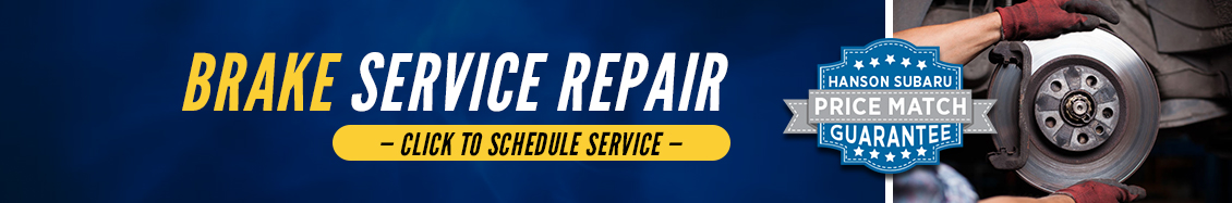 Subaru Brake Repair Services in Olympia, WA