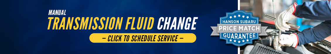 Subaru Manual Transmission Fluid Service Information