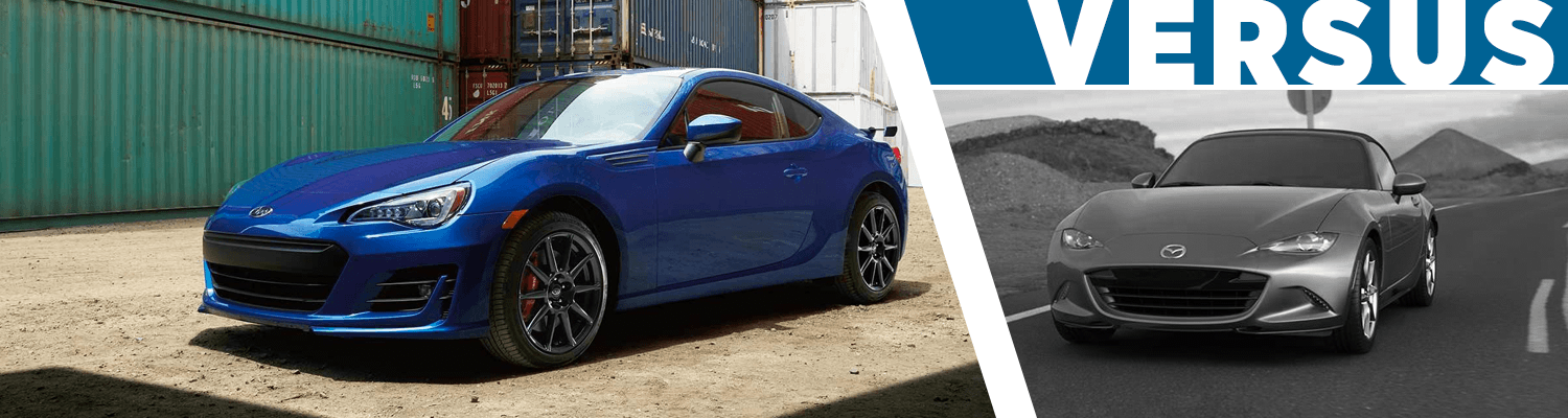 Compare The New 2018 Subaru BRZ vs Mazda MX-5 Miata Model Features & Details