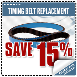 Click to view our timing belt replacement service special in Olympia, WA