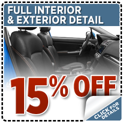 Click to view our full detail service special at Hanson Subaru in Olympia, WA