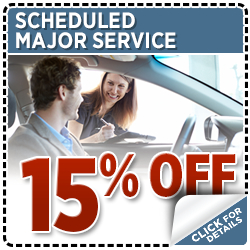Click to view our scheduled major service special at Hanson Subaru in Olympia, WA
