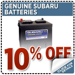 Subaru Batteries Parts Special Serving Tenino, WA