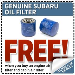 Subaru Oil Filter Parts Special Serving Hawks Prairie, WA